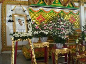 updated: Laid in Rest at the temple